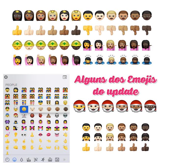 Eba, Atualização dos Emojis!