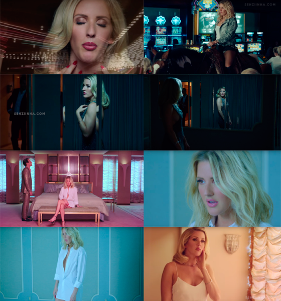 Ellie Goulding vingadora em clipe 'On My Mind'