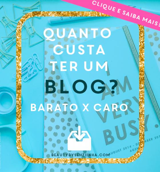 Quanto custa ter um blog?