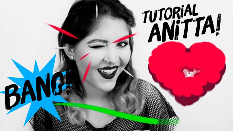 Maquiagem Inspiração Anitta