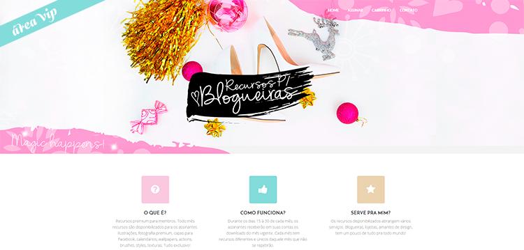 area-vip-delicada-e-criativa-recursos-para-blogueiras