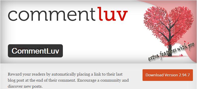 CommentLuv 10 Plugins Para WordPress Que Você Precisa Conhecer